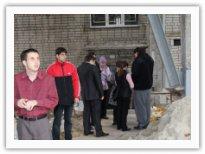 Эвакуация из здания общежития КМКИС