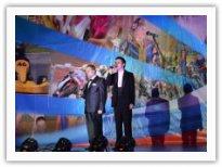 Лауреаты фестиваля Геннадий Суменков и Эдуард Нехаев