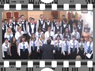 Embedded thumbnail for Бортнянский. Хоровой концерт №3 часть 1. Исп. Хор ДХО